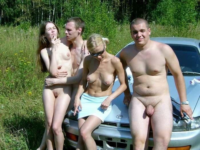 Русские на природе порно домашнее фото 176-284