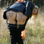 Голая фото сессия жены на природе