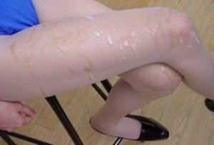 Ножки чужих жён в сперме